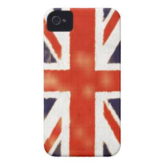 Caso BRITÁNICO del iPhone 4S de la bandera del vin iPhone 4 Case-Mate Coberturas