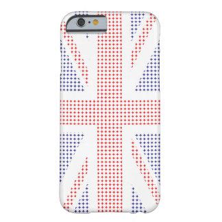 Caso BRITÁNICO del iPhone 6 de la bandera del