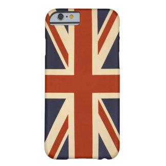 Caso británico del iPhone 6 de la bandera Funda Para iPhone 6 Barely There