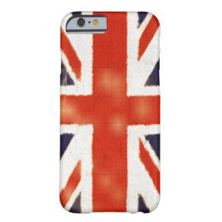 Caso BRITÁNICO del iPhone 6 de Union Jack de la Funda Para iPhone 6 Barely There