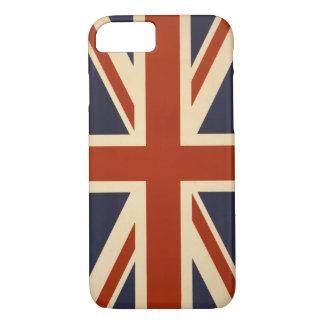 Caso británico del iPhone 7 de la bandera Funda iPhone 7