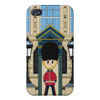 Caso británico del iphone de los guardias de Royal iPhone 4 Cobertura