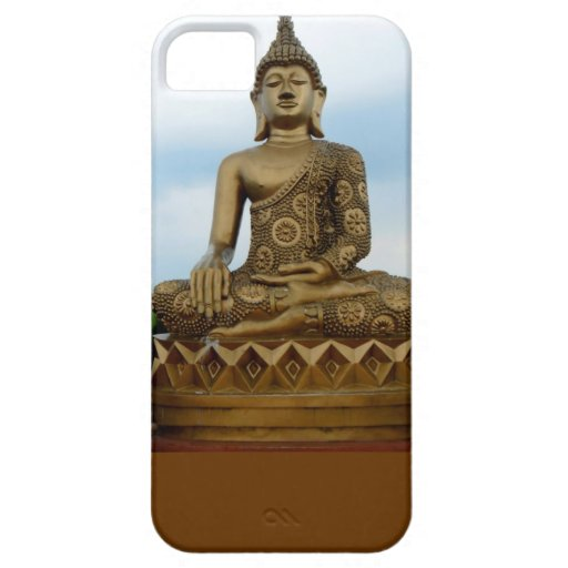 caso Buda de Barely There del iPhone 5 en Lotus iPhone 5 Case-Mate Cobertura