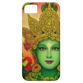 Caso budista del iPhone 5 de Tara del verde de la  iPhone 5 Case-Mate Protector
