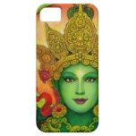 Caso budista del iPhone 5 de Tara del verde de la Funda Para iPhone SE/5/5s