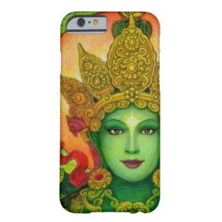 Caso budista del iPhone 6 de Tara del verde de la Funda De iPhone 6 Barely There