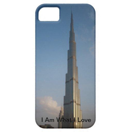 caso Burj Khalifa del iPhone iPhone 5 Case-Mate Carcasas