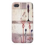 caso cajal del iphone 4G de la retina iPhone 4/4S Carcasas