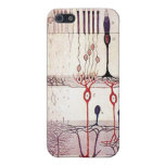 caso cajal del iphone 4G de la retina iPhone 5 Fundas