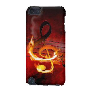 Caso caliente del tacto 5G de iPod de las notas de Funda Para iPod Touch 5G
