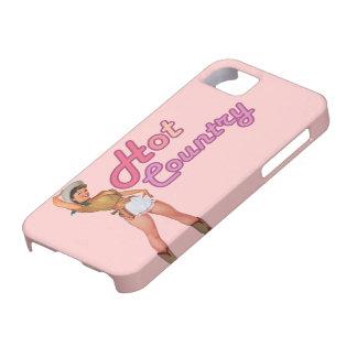 caso caliente rosado retro del vintage iphone5 del iPhone 5 carcasa