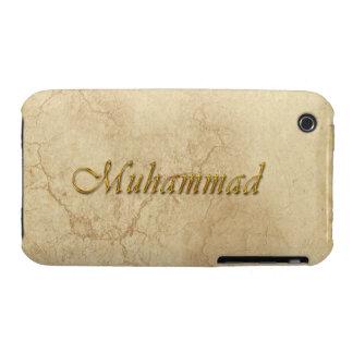 Caso calificado nombre del iPhone 3 de MOHAMED Case-Mate iPhone 3 Funda
