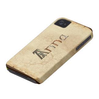 Caso calificado nombre del iPhone 4 de ANA iPhone 4 Case-Mate Cobertura
