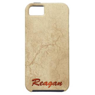 Caso calificado nombre del iPhone 5 de REAGAN iPhone 5 Funda