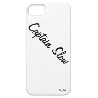 Caso calificado Slow del iPhone 5 de capitán iPhone 5 Funda