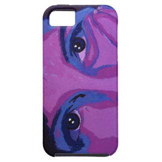 Caso cambiante del iphone de las púrpuras iPhone 5 coberturas