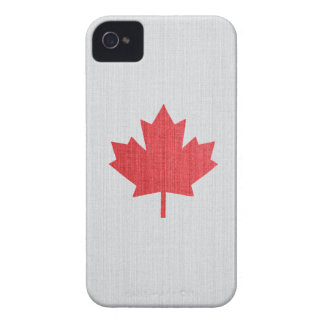 Caso canadiense de Iphone 4 de la hoja de arce iPhone 4 Case-Mate Funda