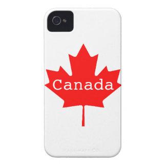 Caso canadiense del iPhone 4/4S de la hoja de arce Case-Mate iPhone 4 Cárcasas