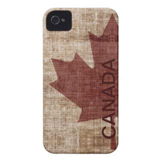 Caso canadiense del iPhone 4 de la bandera iPhone 4 Carcasas