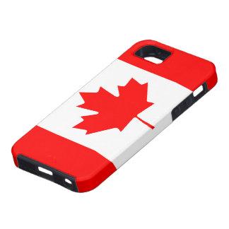Caso canadiense del iPhone 5 de la bandera iPhone 5 Case-Mate Cárcasas