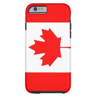Caso canadiense del iPhone 6 de la bandera