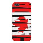Caso canadiense del iPhone de la bandera iPhone 5 Carcasa