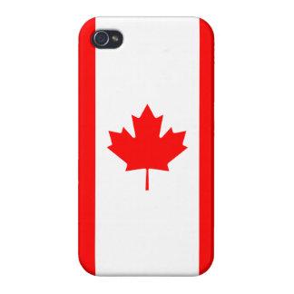 Caso canadiense del iPhone de la hoja de arce de l iPhone 4 Cárcasas