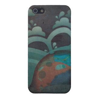 Caso cansado del iPhone 4 de la ballena iPhone 5 Carcasas