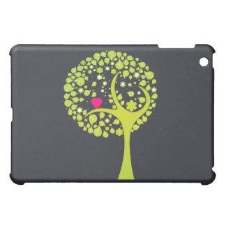 Caso caprichoso del iPad del árbol