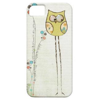 caso caprichoso del iphone 5 del búho iPhone 5 cárcasas