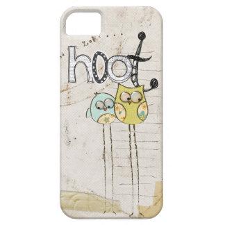caso caprichoso del iphone 5 del búho iPhone 5 carcasa