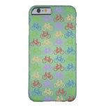 Caso Cas del iPhone 6 del modelo de la bicicleta Funda De iPhone 6 Barely There