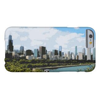 Caso casero dulce del iPhone 6 de Chicago Funda Barely There iPhone 6