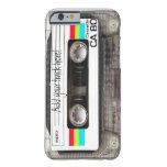"""caso """"casete """" del iPhone 6 Funda De iPhone 6 Barely There"""
