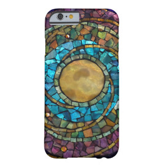 "Caso ""celestial"" del iPhone 6 del mosaico del Funda De iPhone 6 Barely There"