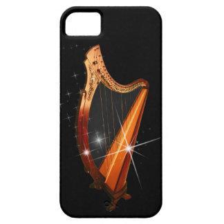 Caso céltico del iPhone de la arpa iPhone 5 Fundas