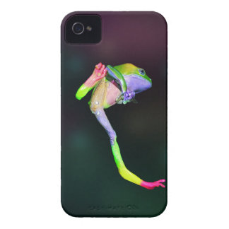Caso ceroso gigante del iPhone 4 del mono del arco iPhone 4 Cárcasas