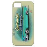 caso chevy del iphone del coche de carreras 1957 iPhone 5 Case-Mate fundas