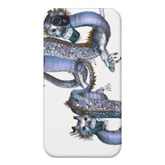 Caso chino del iPhone 4 de los dragones iPhone 4 Cárcasas