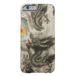 Caso chino del iPhone 6 de la pintura del dragón, Funda Para iPhone 6 Barely There