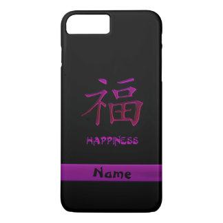 Caso chino del iPhone 7 del kanji de la felicidad Funda iPhone 7 Plus