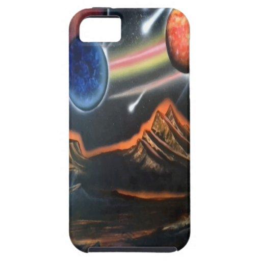 caso/ciencia ficción del iphone 5 iPhone 5 funda