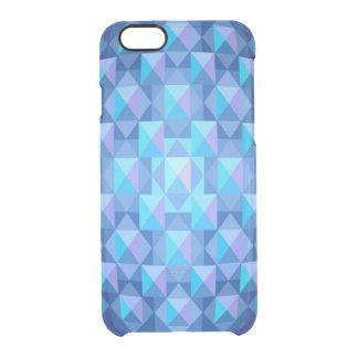 Caso claro del iPhone 6 azules tallados en cristal Funda Clearly™ Deflector Para iPhone 6 De Uncommon