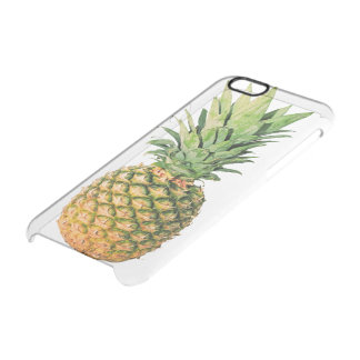 Caso claro del iPhone 6 de la piña Funda Clearly™ Deflector Para iPhone 6 De Uncommon