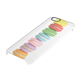 Caso claro del iPhone 6 de Macarons Funda Clearly™ Deflector Para iPhone 6 De Uncommon