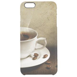 Caso claro del iPhone 6 del amante del café Funda Clear Para iPhone 6 Plus