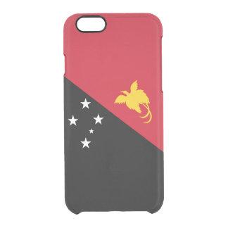 Caso claro del iPhone de Papúa Nueva Guinea Funda Clear Para iPhone 6/6S