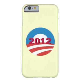 Caso clásico 2012 del iPhone 6 de Obama Funda Barely There iPhone 6