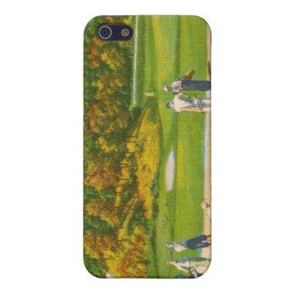 Caso clásico del iphone 4 del golf iPhone 5 funda