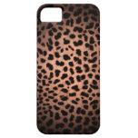 Caso clásico del iPhone 5 del estampado leopardo d iPhone 5 Case-Mate Fundas